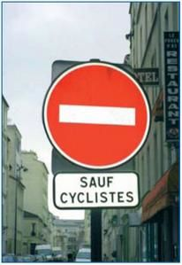 Album - documentation double-sens cyclable