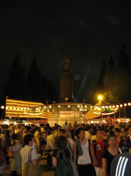 Le Mitama Matsuri, le soir du mardi 16 Juillet