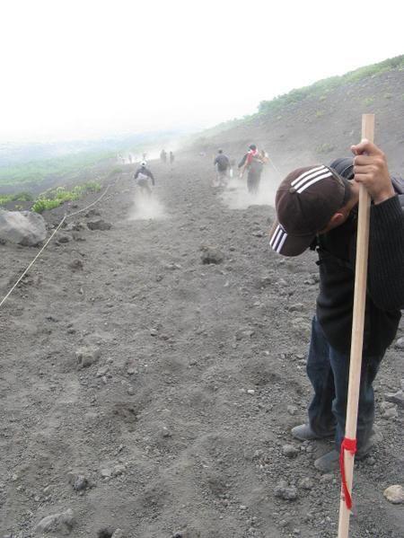 Ascension du Mt Fuji : Plus haut sommet du Japon (3776m) le week-end des 26 et 27 Juillet 2008
