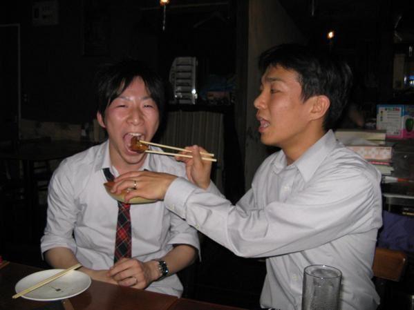 Photos de la fête de bienvenue organisée en mon honneur le vendredi 13 juin 2008 ! Dans un bar-restaurant de Hashimoto.