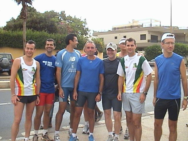 Course par equipes de 3 du 21-06-2009Maha et Graziano