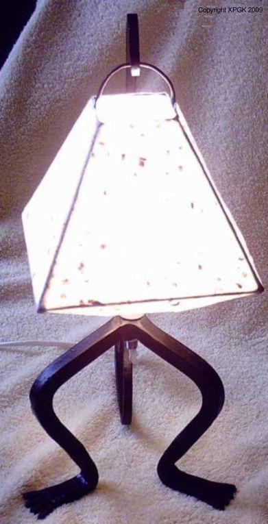 Ici vous trouverez les luminaires créés par Xavier Pinasseau.