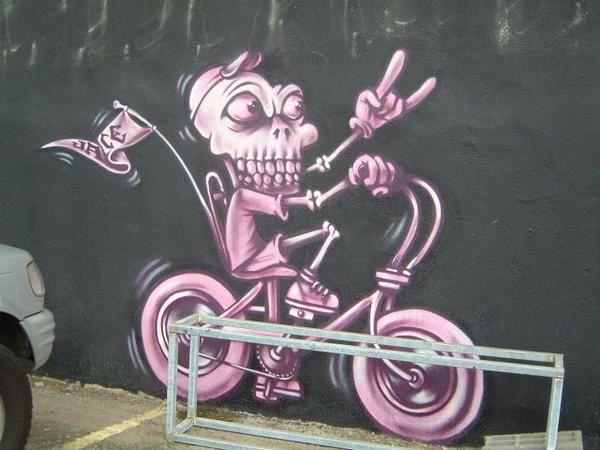 art sur les murs ou autres supports...