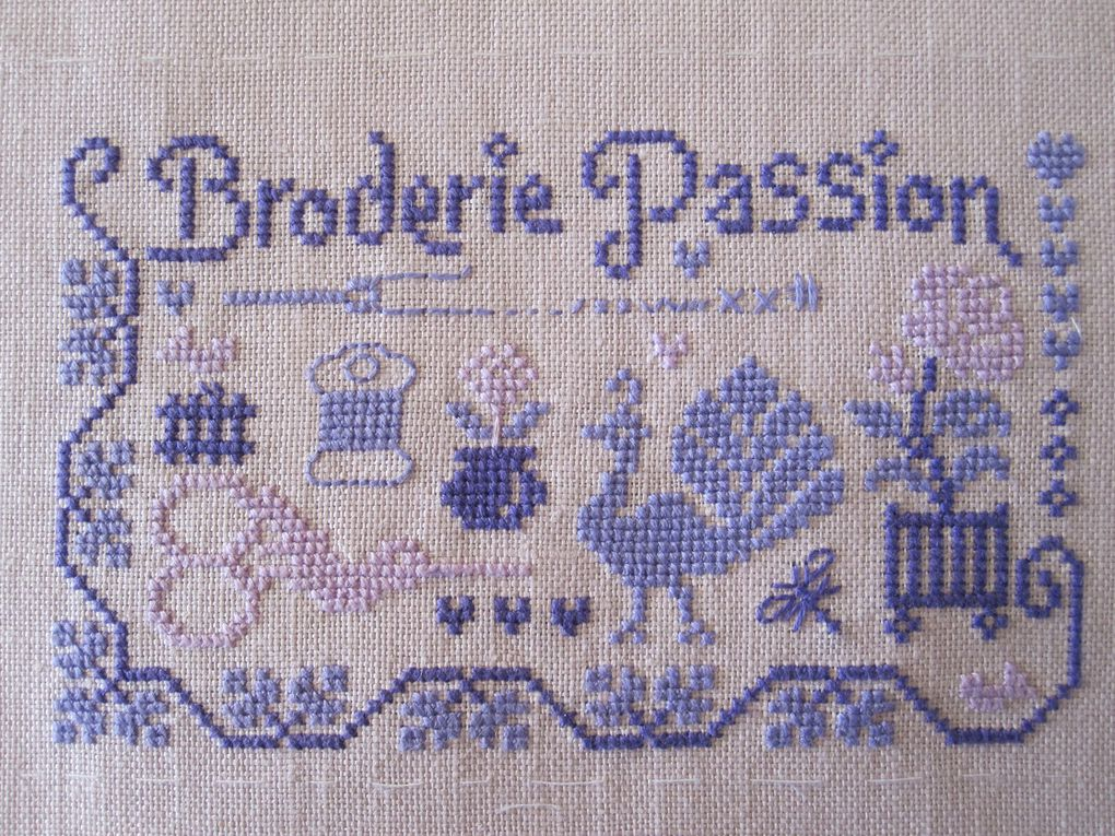 Album - Broderie  point de croix