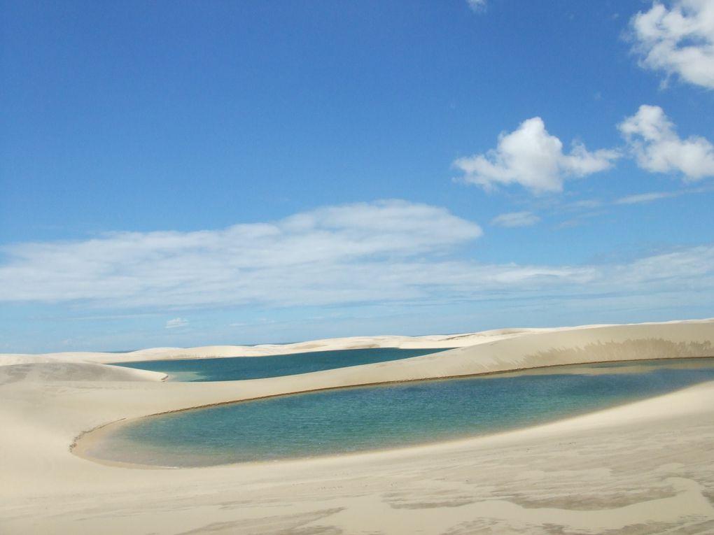 Un désert humide dans l'état du Maranhão.
