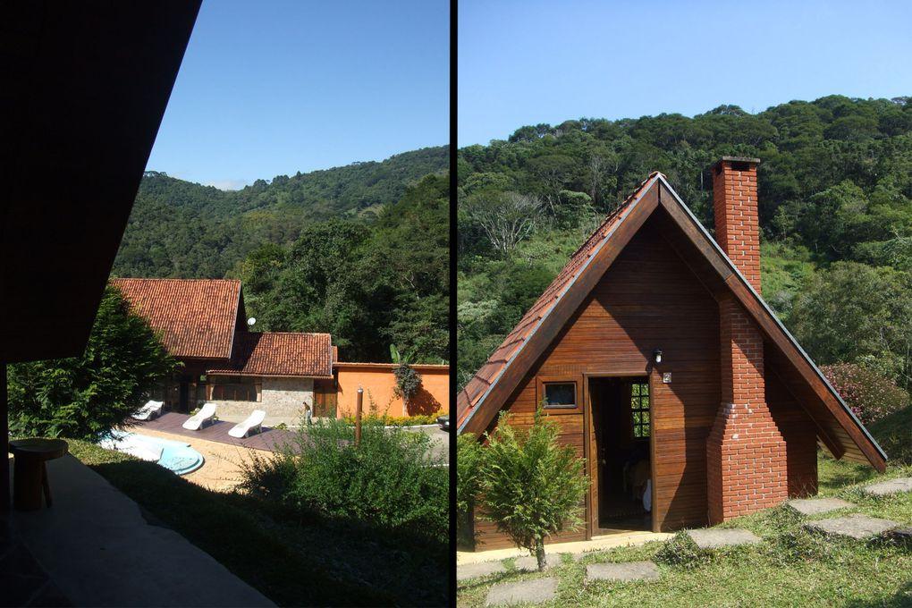"Station de montagne dans l'état de São Paulo, proche de la célèbre ""Campos do Jordão"""