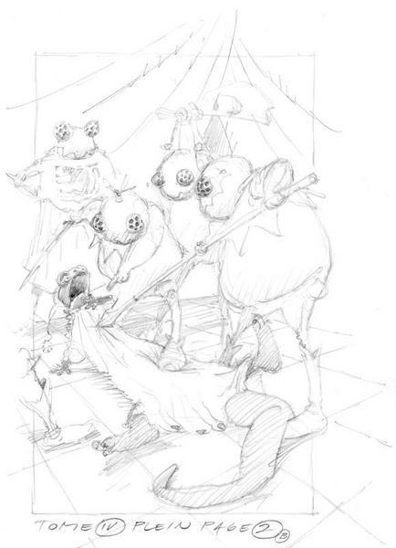 Album - Le Royaume des 7 Mares - Character Design