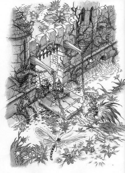 Album - Le Royaume des 7 Mares - illustrations