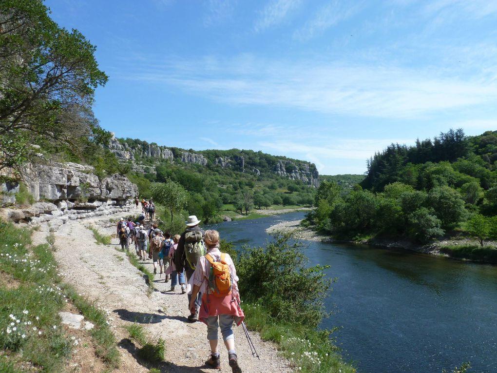 Semaine rando en Ardèche