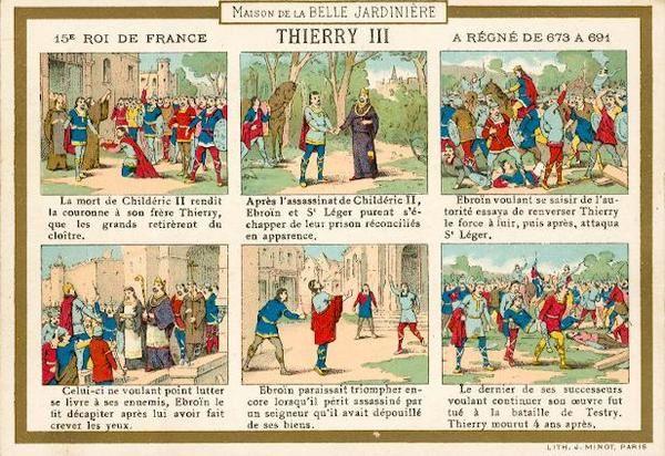 Album - Rois de France -vignettes publicitaires-