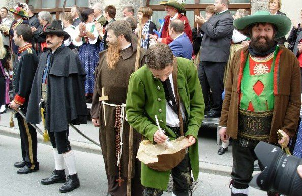 Les costumes tyroliens !
