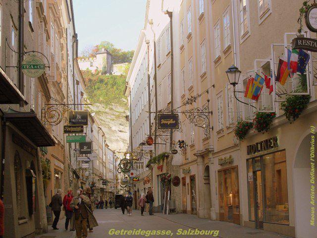 Au coeur de la ville de Salzbourg... Lancez le diaporama !