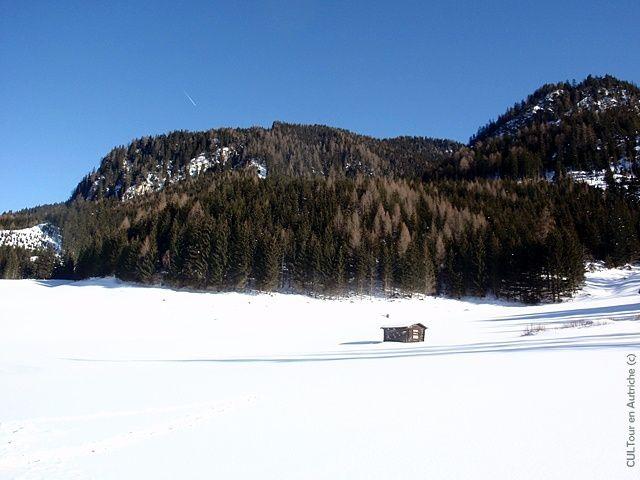 Le Tyrol sous la neige. Lancez le diaporama !