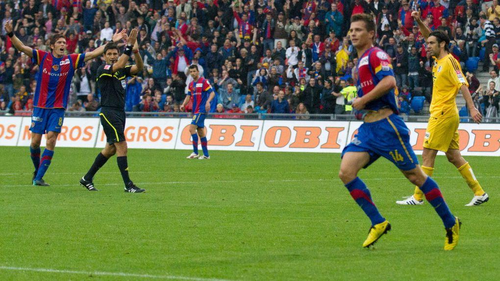 AXPO Super league - 14 aout 2010