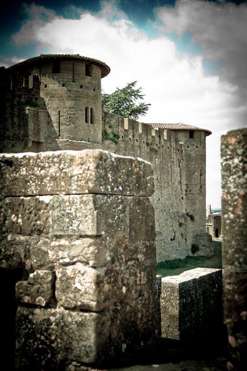 Carcassonne, castres, Beziers, Minerve, Sigean (reserve africaine), un peu tout ce qu'on a vu durant ces quinze jours