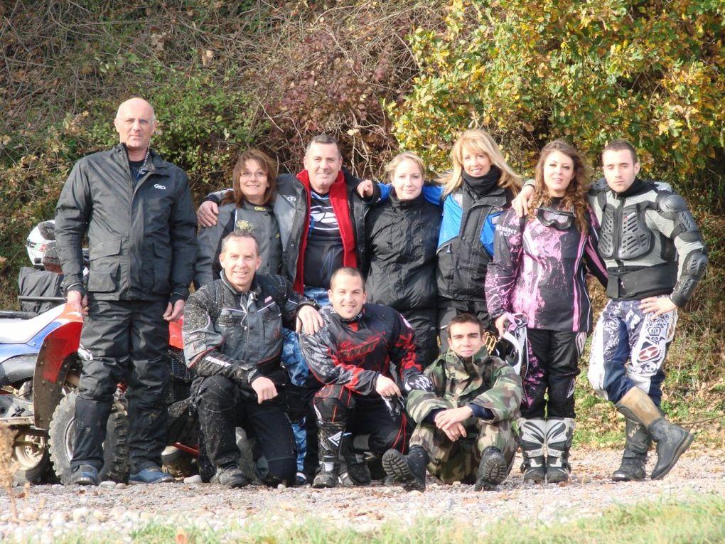 Randonnée de 110 km, de l'association Quad 18 Organisation