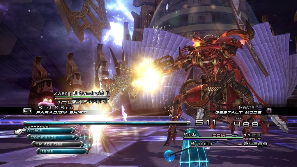 Toutes les images concernant Final Fantasy XIII