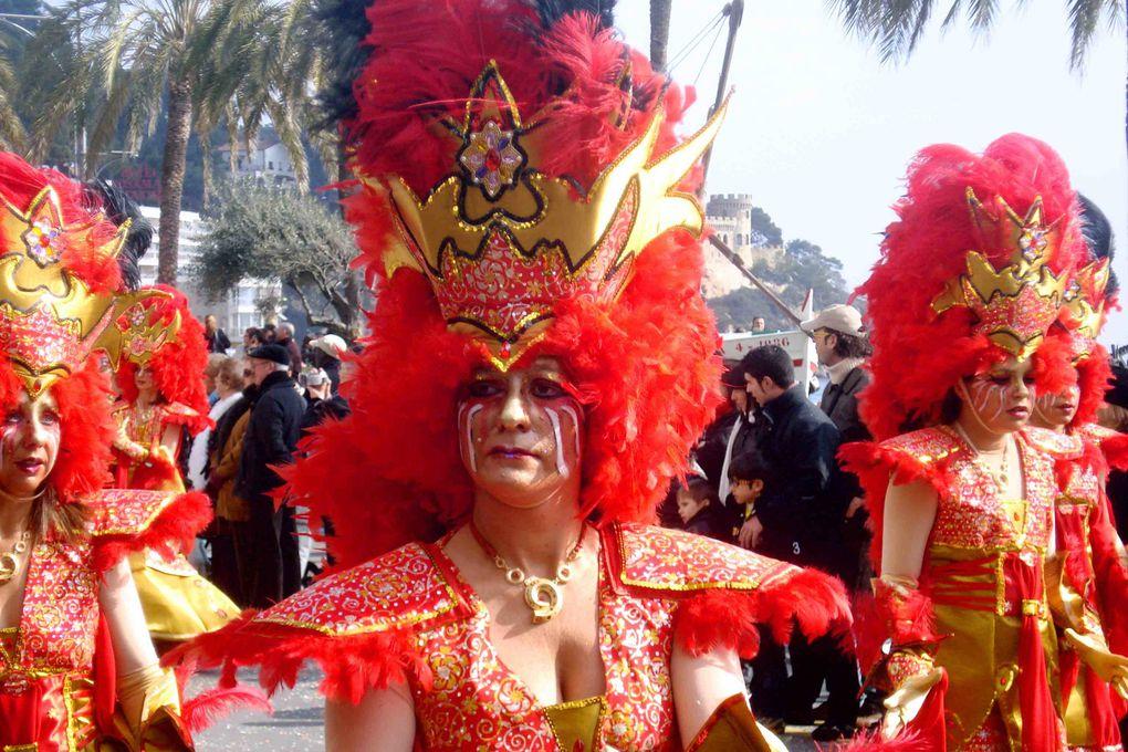 Karnevall 2010 in Lloret de Mar Costa Brava bei nur 3 Grad in diesem Jahr. leider fehlte die Sonne und der blaue Himmel.