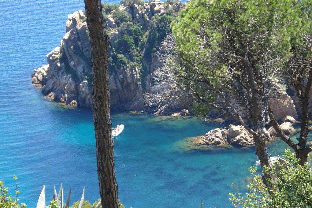 Wer die Costa Brava liebt kann diese Fotos genießen.Fotos Zwischen San Feliux de Guixols, Tossa de Mar, Lloret de Mar