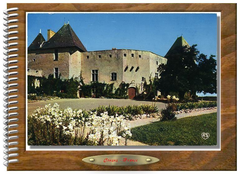 Châteaux cartes postales