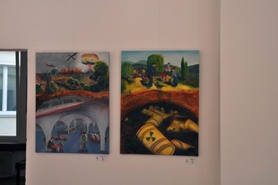 Vernissage der Ausstellung unterirdisch - Galerie FORMA:T