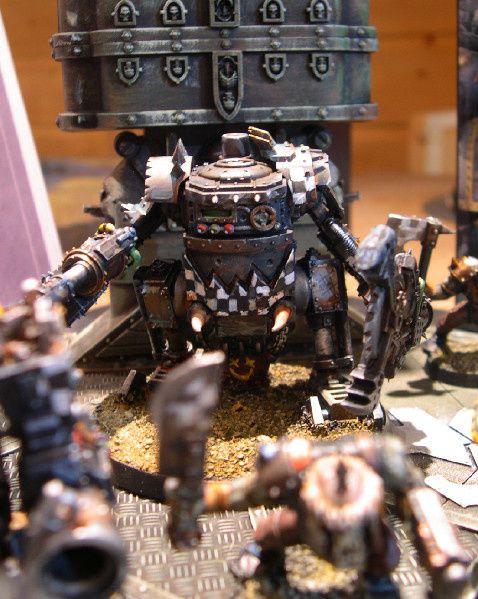 """une armée d'Orks peinte pour la boutique """"les 7 Royaumes"""""""