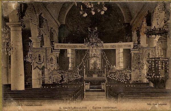 quelques photos de saint maulvis autrefois
