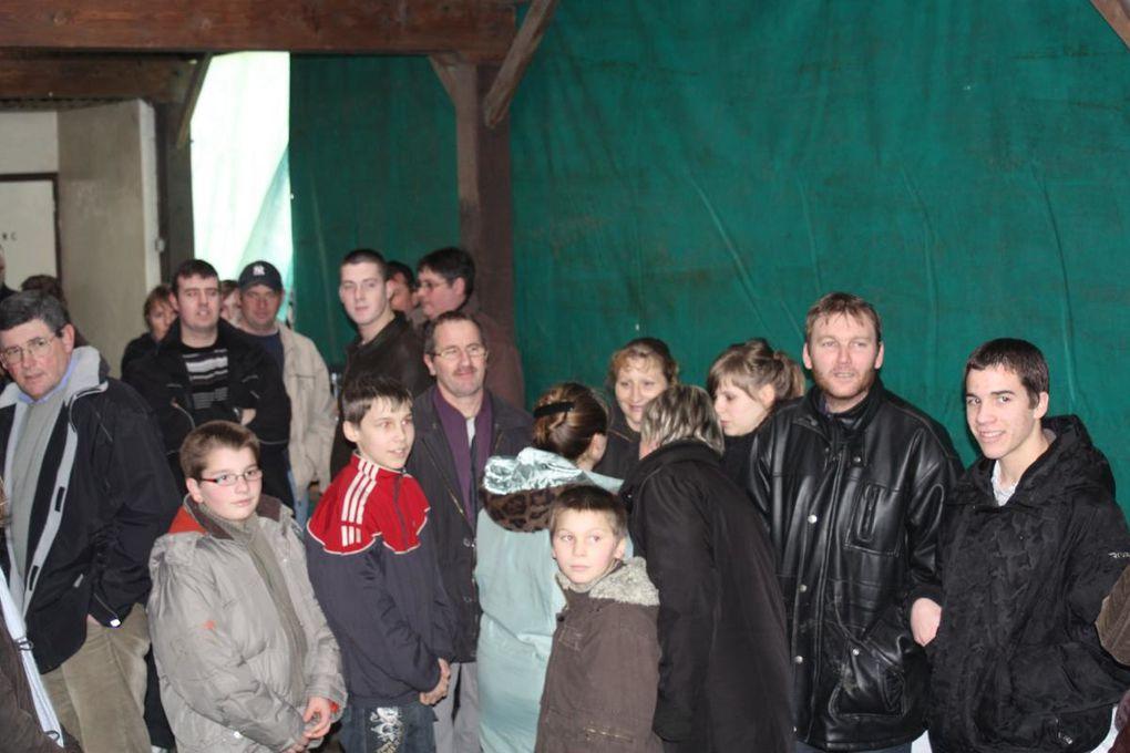 Le maire avait convié tous les habitants afin de leur souhaiter les voeux pour 2009