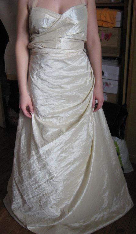 Ma première robe de mariée!