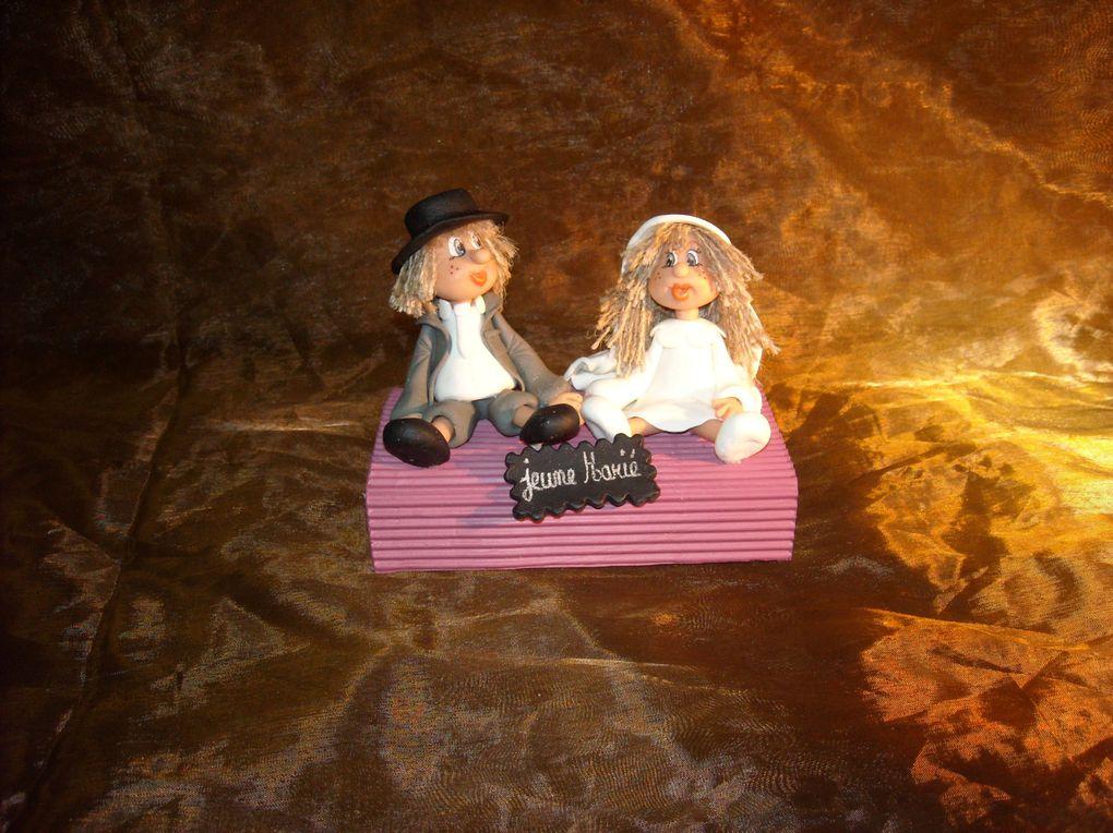 Album - figurine de  Mariage