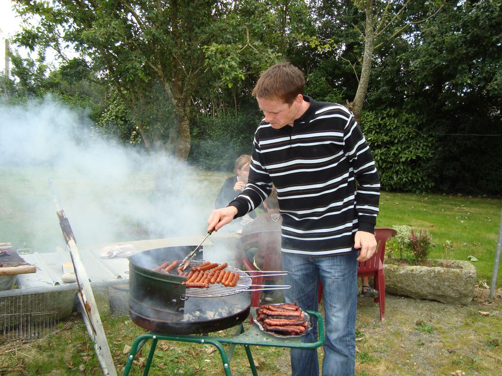 Photos du barbecue du 30 juin  2009 chez Yvette