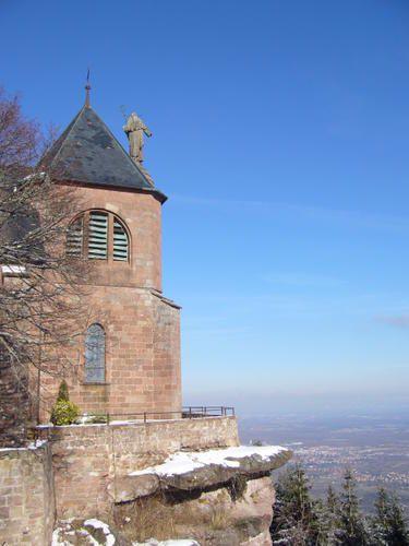 le Mont Ste Odile en Alsacephotos de philae (jo)