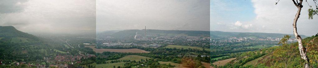 Hier findet ihr eine kleine Auswahl meiner gemachten Bilder von der Wanderung auf der SaaleHorizontale rund um Jena im September 2009.