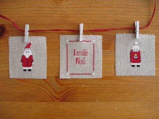 voici un petit échantillon de mes créations de Noel : décorations de sapin, bannières, centres de table, étiquettes...Retrouvez-les toutes sur mon site http://www.terresetlin.fr