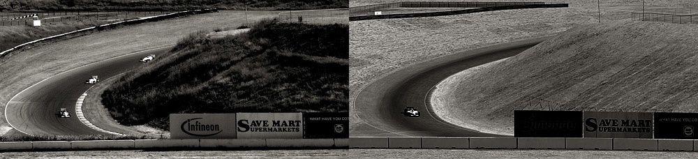 A gauche une photo de la réalité, à droite une image du simulateur... Bluffant!