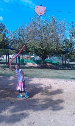 Near the residence, at less than 3 mn by auto, a huge sportek, wonderful for children of all ages.