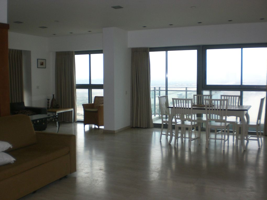 apartment, loft 3 rooms, magnifical sea view, floor 10th in Herzliya marina