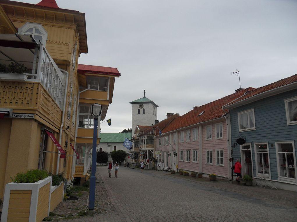 De Göteborg à Stockholm en vélo - été 2012