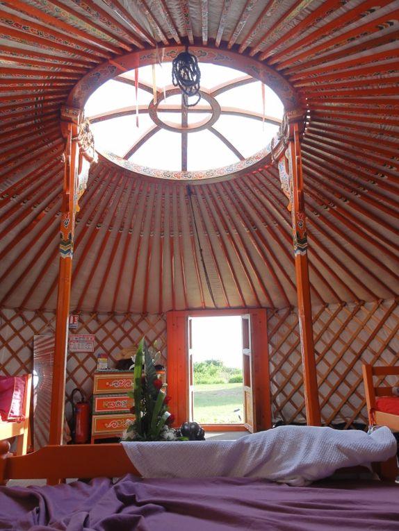 Un WE de 3 jours à Etang-salé organisé par Nico pour la St Valentin - logement en yourte mongole