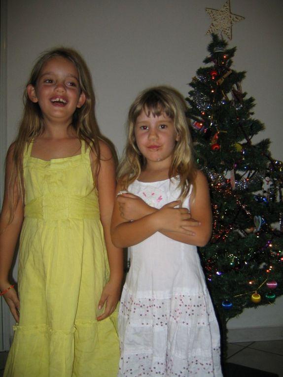 Noël 2009 en famille au Tampon