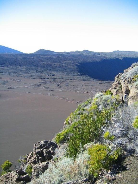 Rando près du volcan avec Rémy, Guilhem, et Delphine