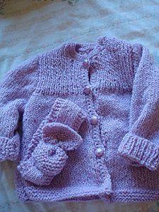travaux de tricot , crochet