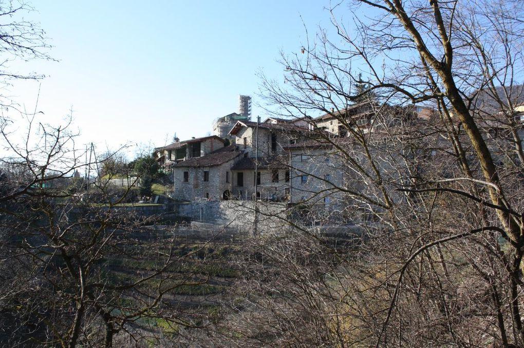 Passeggiata nel parco della Breggia, da Balerna fino a Castel San Pietro