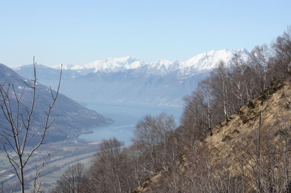 San Defendente (sopra Sementina) alla capanna Mognone e ritorno.
