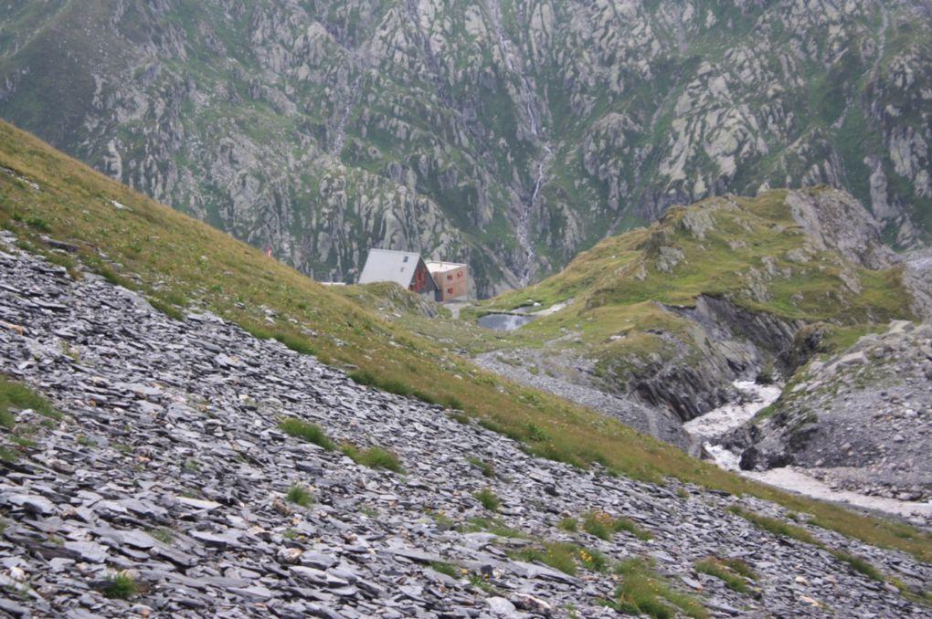 Prima giornata, dalla capanna Motterascio alla capanna Scaletta, e seconda giornata, dalla capanna Scaletta a Crap la Crusch