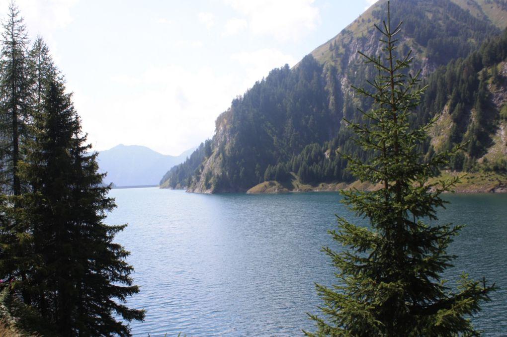 Seconda giornata, da Crap la Crusch al lago Luzzone