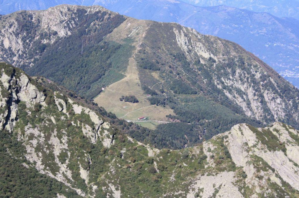 Escursione del 06.09.2009 dal monte Tamaro al monte Lema