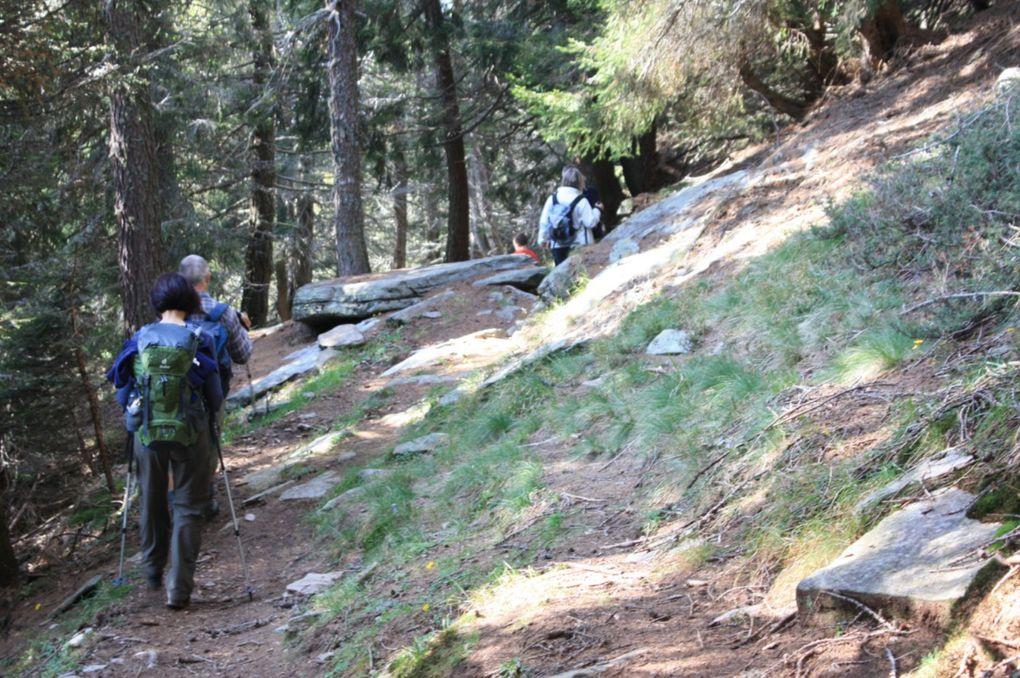 Escursione del 27.09.2009 dai Monti di Savurù alla capanna Brogoldone e al Piz de Molinera