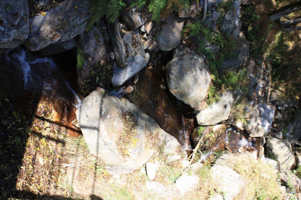 """Foto dell'escursione del 11.10.2009, da Chironico al lago """"Laghetto""""."""