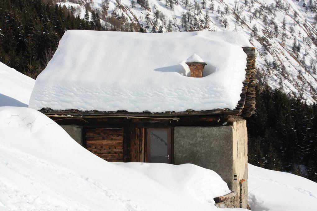 Foto della ciaspolata da Camperio a Dötra e Croce Portera